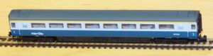 Dapol 2P-005-023 Mark 3 1st Class, Blue/Grey Livery, Buffers (Loco-hauled), No.M11085